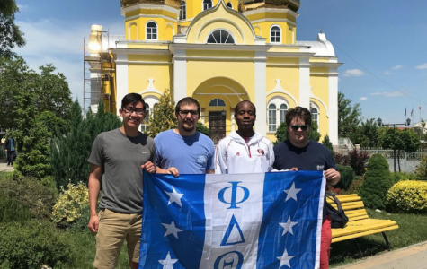 Allegheny student finds a piece of home while in Moldova