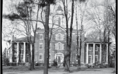 This photograph, taken by William Bulger in 1937, shows Bentley Hall just a decade after its 1925 renovation.
