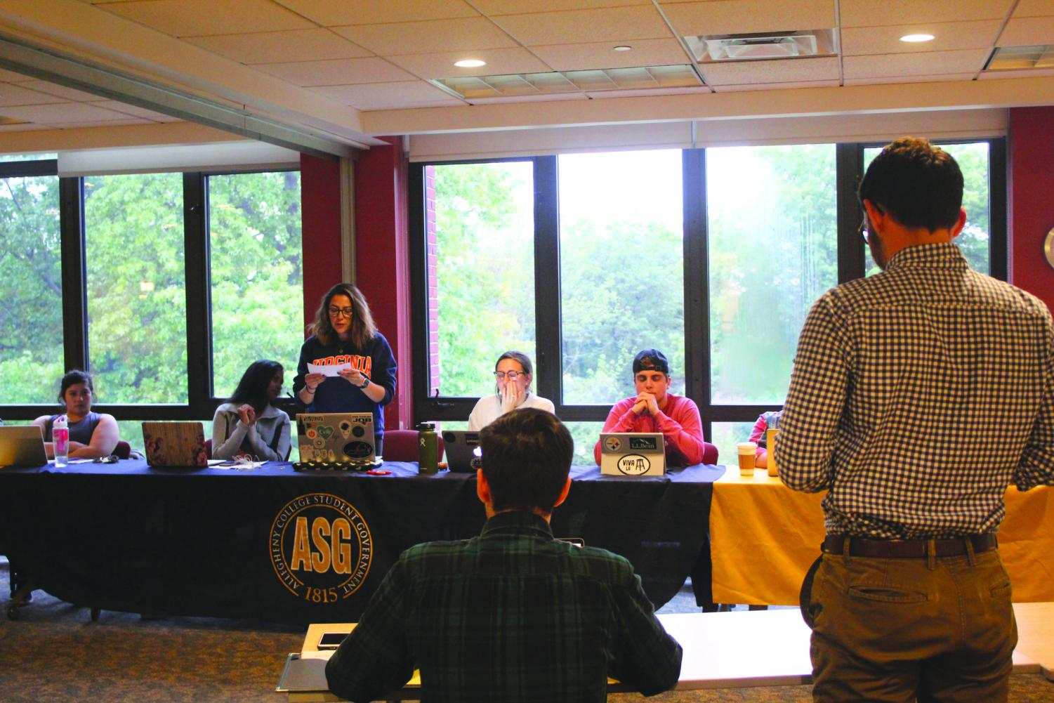 Allegheny Student Government held its meeting on Tuesday, Sept. 11, 2018. ASG swore in class proxies and discussed the upcoming elections.