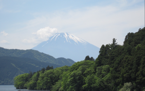 Students explored sites in Japan, like Mount Fugi, while traveling on the 2018 Japan EL Seminar.