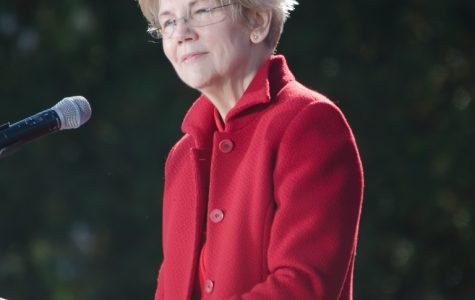 Warren allowed public discourse to dwell on trivial matters by addressing Trump's racist attacks