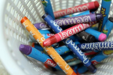Nonprofit reconstitutes wasted crayons, brings attention to larger waste problem