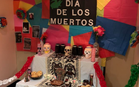Union Latinx decorated an altar in Grounds for Change and displayed photos to honor their loved ones on Dia de los Muertos on Nov. 2.
