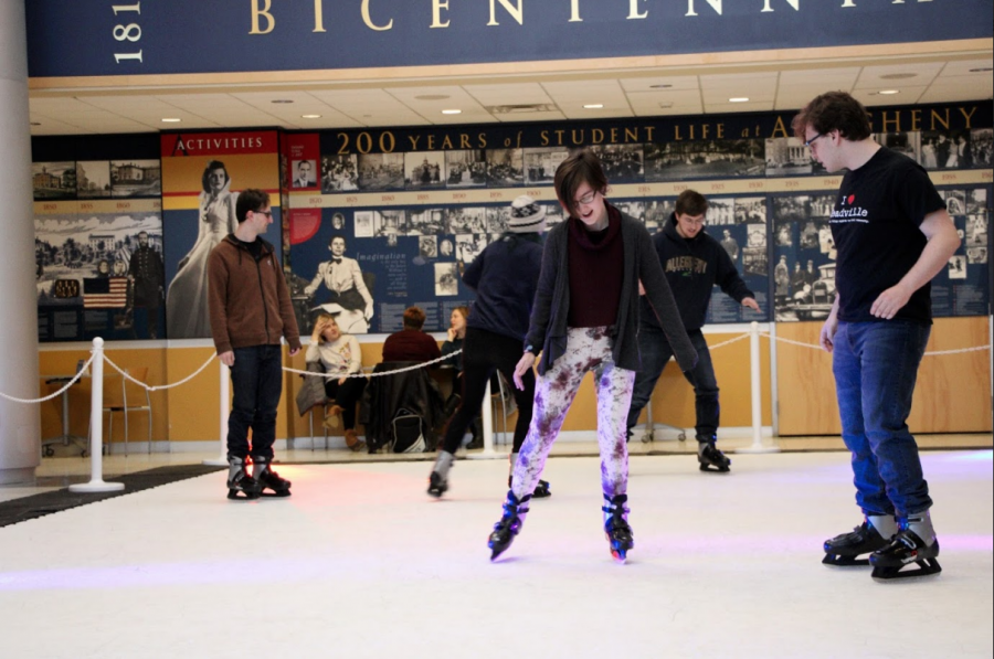 Winterfest features campus center ice skating rink