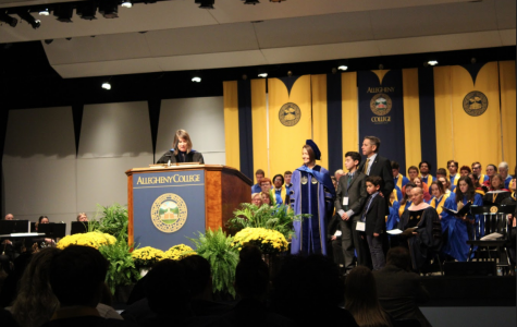 A special occasion: Link inaugurated as Allegheny's twenty-second president