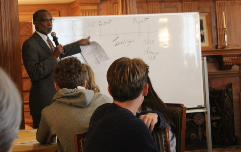 State Senator Art Haywood, recipient of Prize for Civility in Public Life, visits campus to discuss civic advocacy