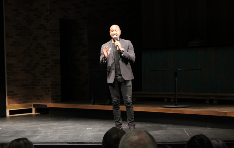 History Has Its Eyes on You: Bryan Terrell Clark visits campus to talk to students about finding their purpose