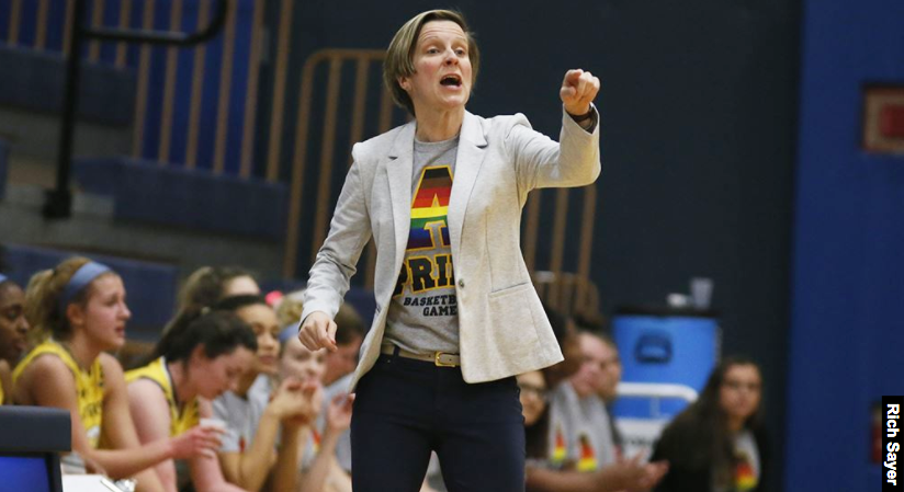 Kate Costanzo, Head Coach of the Women's Basketball team has been nominated for the NCAA Division III LGBTQ Adminstrator/Coach/Staff award. Costanzo has been at Allegheny since 2006.