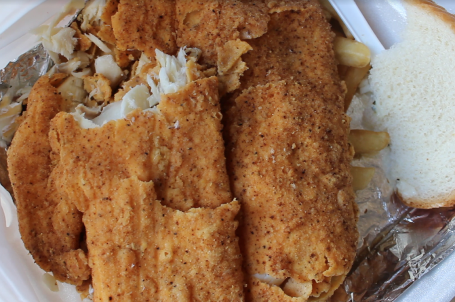 Haddock from McClure's Fish House and More. The restaurant uses a family recipe, modified for the Meadville palate.
