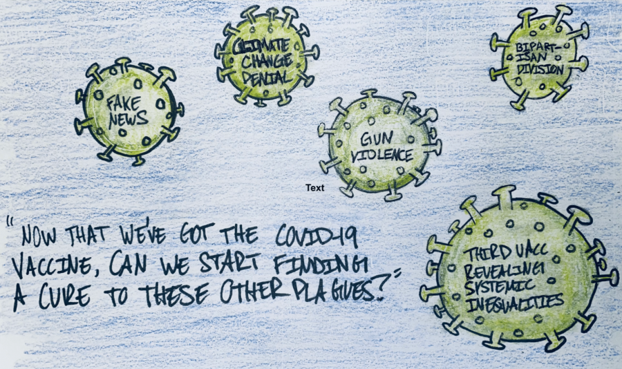 Editorial Cartoon: The Other Plagues