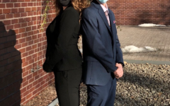 Noah Tart, '22, and Sophie Adams, '22, win election.