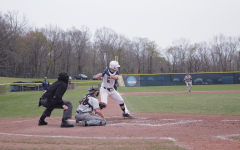 Tyler Hettich, 22, preparing to bat.