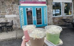 E-Street Eatery features more than 80 milkshakes to choose from, including these three.