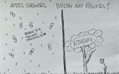 Editorial Cartoon: April Showers
