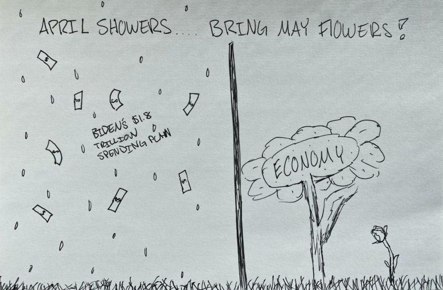 Editorial Cartoon: April Showers