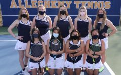 The 2021 womens tennis roster