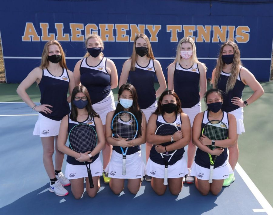 The 2021 women's tennis roster