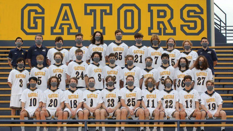 The 2021 men's lacrosse team