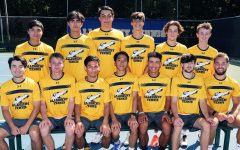 Allegheny's 2021-22 men's team roster. The men's team won 9-0 Saturday, Sept. 4, against Washington and Jefferson.
