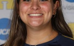 Olivia DAndrea, 22. has been a key player for Allegheny this season. DAndrea leads the Gators in assists this year and recorded her one thousandth career assist as a setter in the win on against Oberlin on Wednesday, Sept. 29