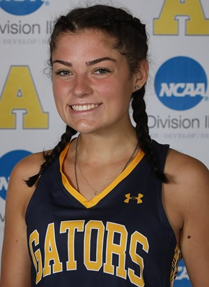 Debbie Nalesnik, 24 hit in two goals in Alleghenys 8-0 victory over Medaille on Tuesday, Oct. 5