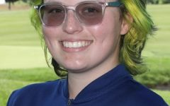 Camile OHalloran, 23, led Allegheny with a 10th place finish in the Guy and Jeanne Kuhn Invitational on Sept. 26-27. She carded an 80 and 82 respectively during the two-day event.
