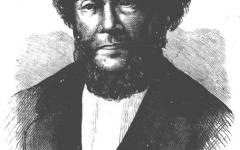 Photo source: Wikipedia  Edward Rulloff, also known as James Nelson, is pictured here. Ruloff taught at Allegheny briefly under a psuedonym. Ruloff killed his wife and young daughters in 1844, prior to teaching at Allegheny.